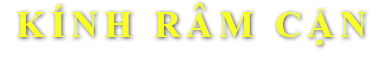 Kính mắt Vin Eye - đơn vị chuyên về KÍNH RÂM CẬN tại Hà Nội